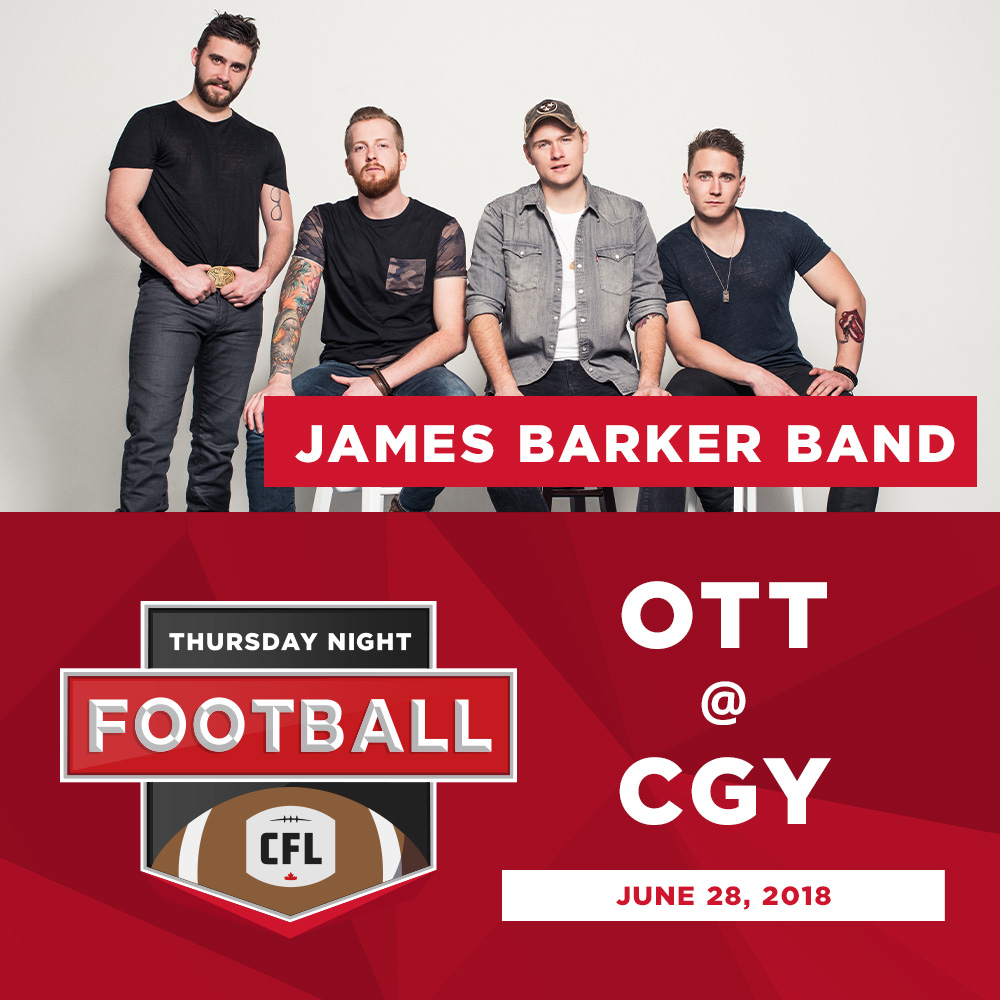 James Barker Band | CGY | June 28