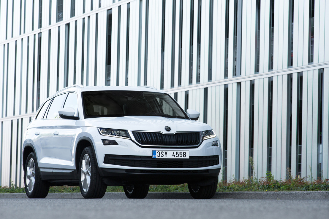 ŠKODA achieves best first half year in the company's history