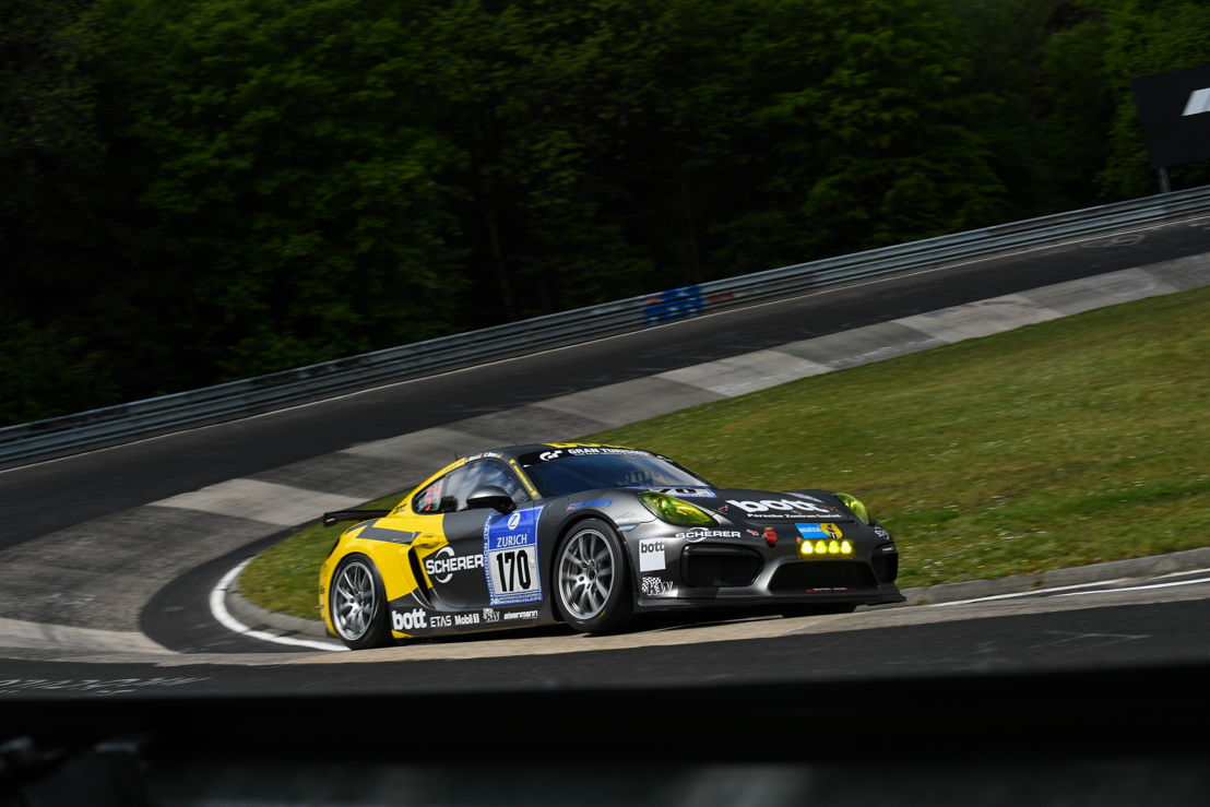 Cayman GT4 Clubsport (170), Manthey Racing: Christoph Breuer, Christian Gebhardt, Lars Kern