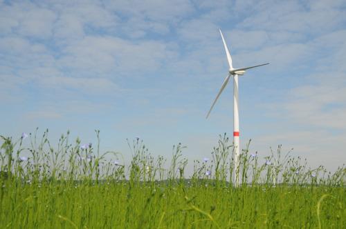 Een project van 4 nieuwe windturbines in Léglise