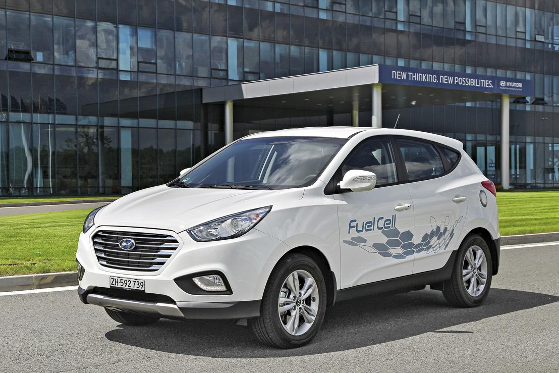 Hyundai führt erstes serienmässiges Wasserstoff-Fahrzeug in der Schweiz ein
