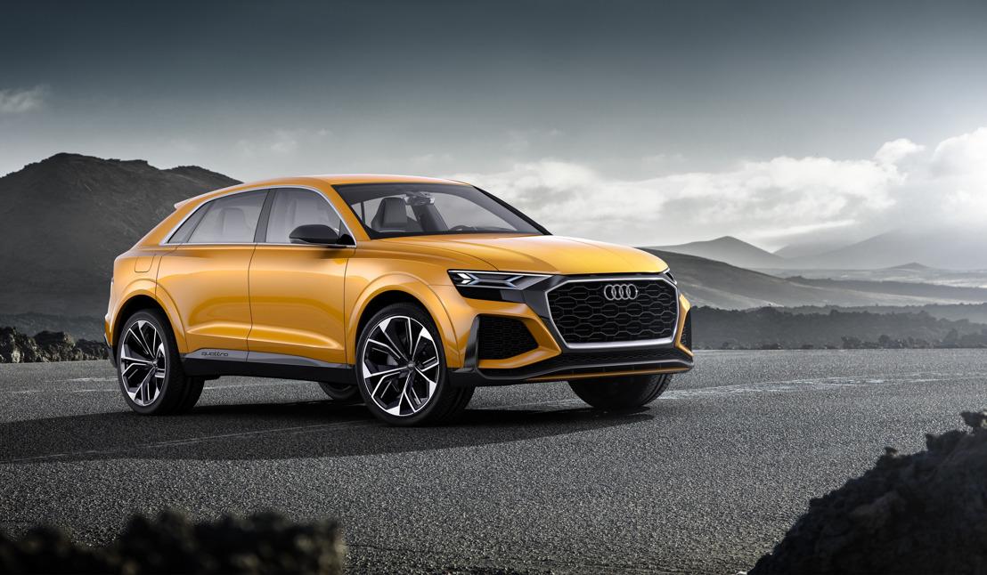 Talentueuse et pluridisciplinaire : l'Audi Q8 sport concept