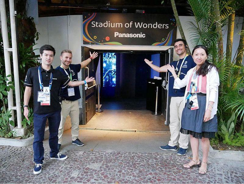 Panasonic @ JJOO Rio 2016 Stadium of Wonders