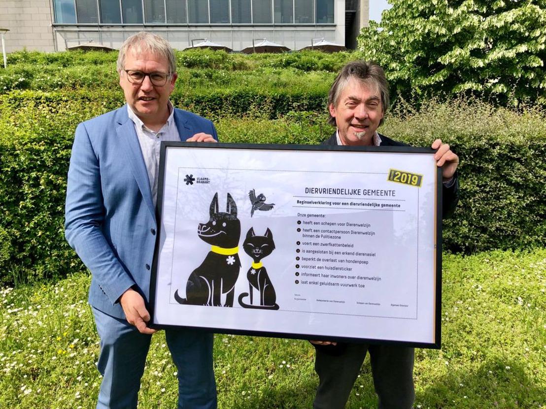 Provincie Vlaams-Brabant verscherpt label Diervriendelijke Gemeente met steun van GAIA