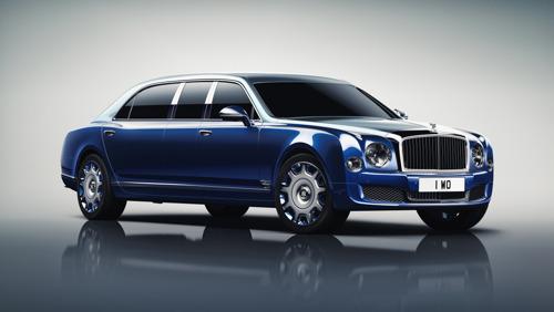 La Bentley Mulsanne Grand Limousine de Mulliner