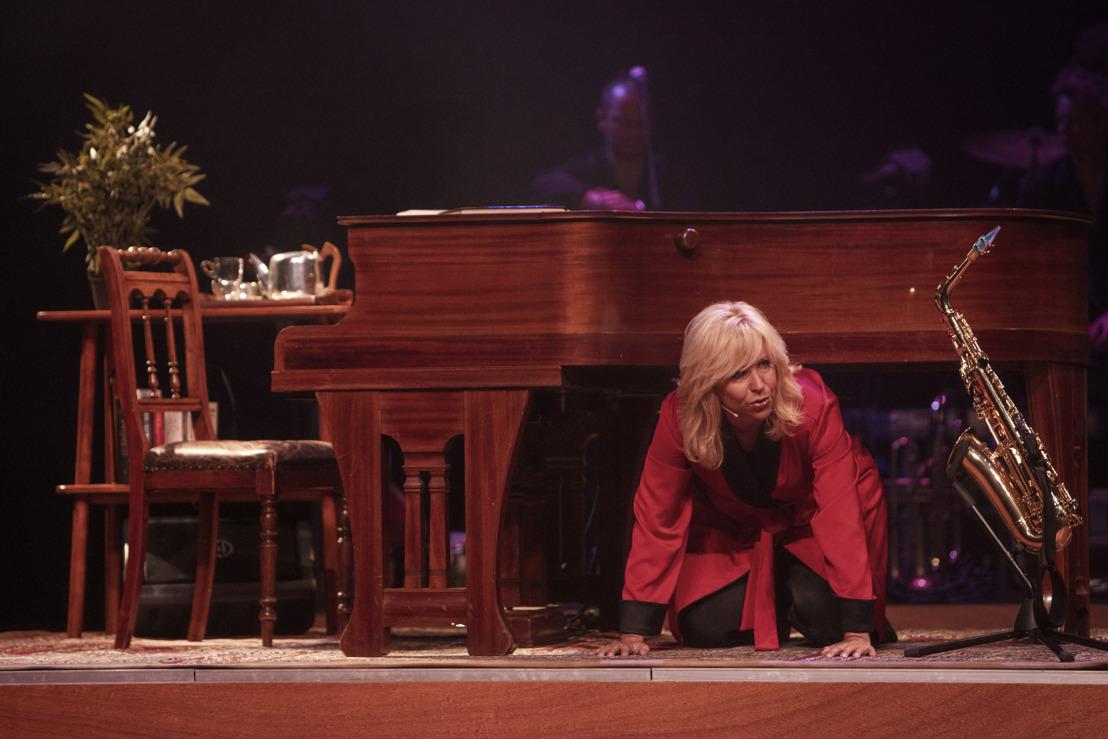 Cabaretière en zangeres Claudia de Breij eindelijk opnieuw in België