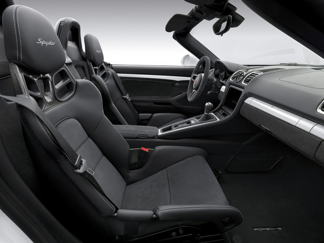 Boxster Spyder Interior
