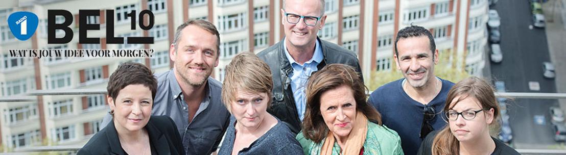 Radio 1 bundelt ideeën BEL10 in digitaal boek