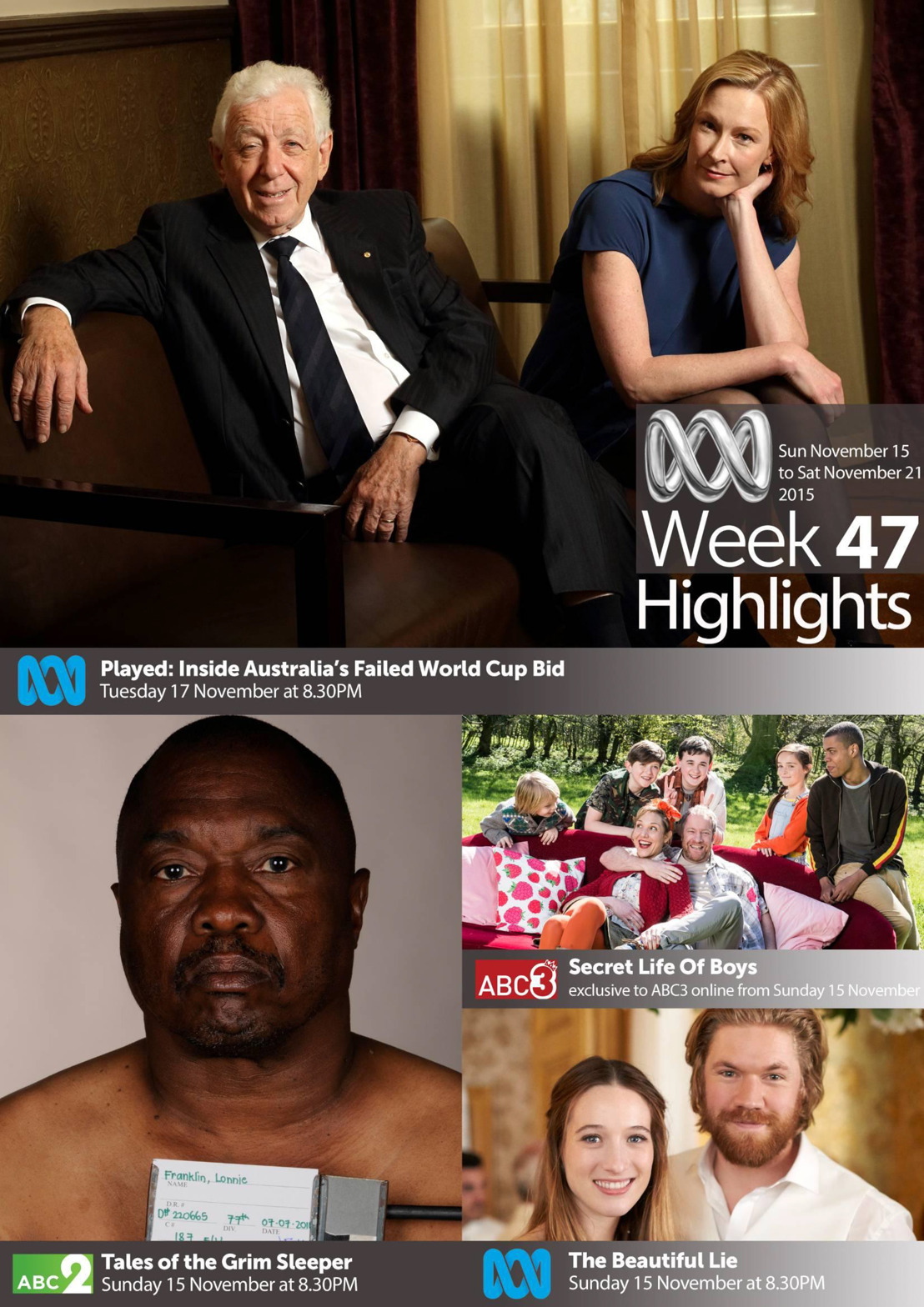 ABC TV Highlights - Week 47