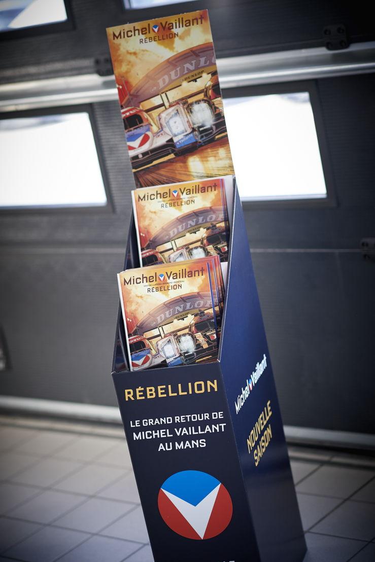 New album of Michel Vaillant : Rébellion