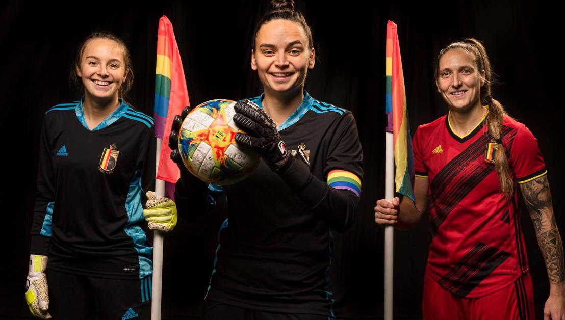 L'URBSFA, l'ACFF et Voetbal Vlaanderen invitent les supporters et les footballeurs à lutter contre le racisme et la discrimination en affichant les couleurs de l'arc-en-ciel sur Facebook