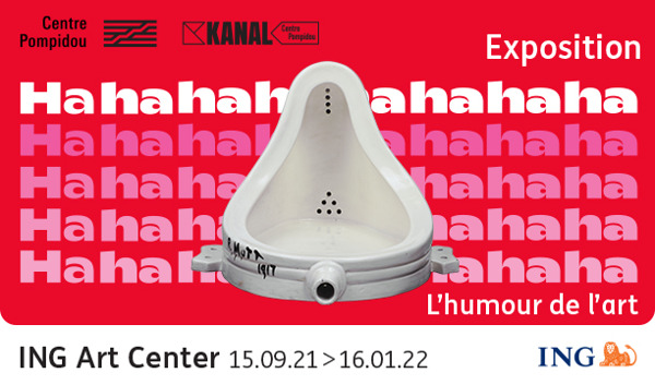 This autumn, the ING Art Center is putting optimism at the centre with the new exhibition Hahaha. The Humor of Art