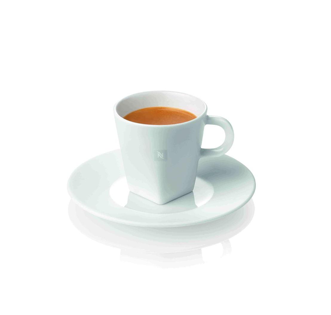 Nespresso - 2 tasses Espresso avec sous-tasses assorties (21 €)