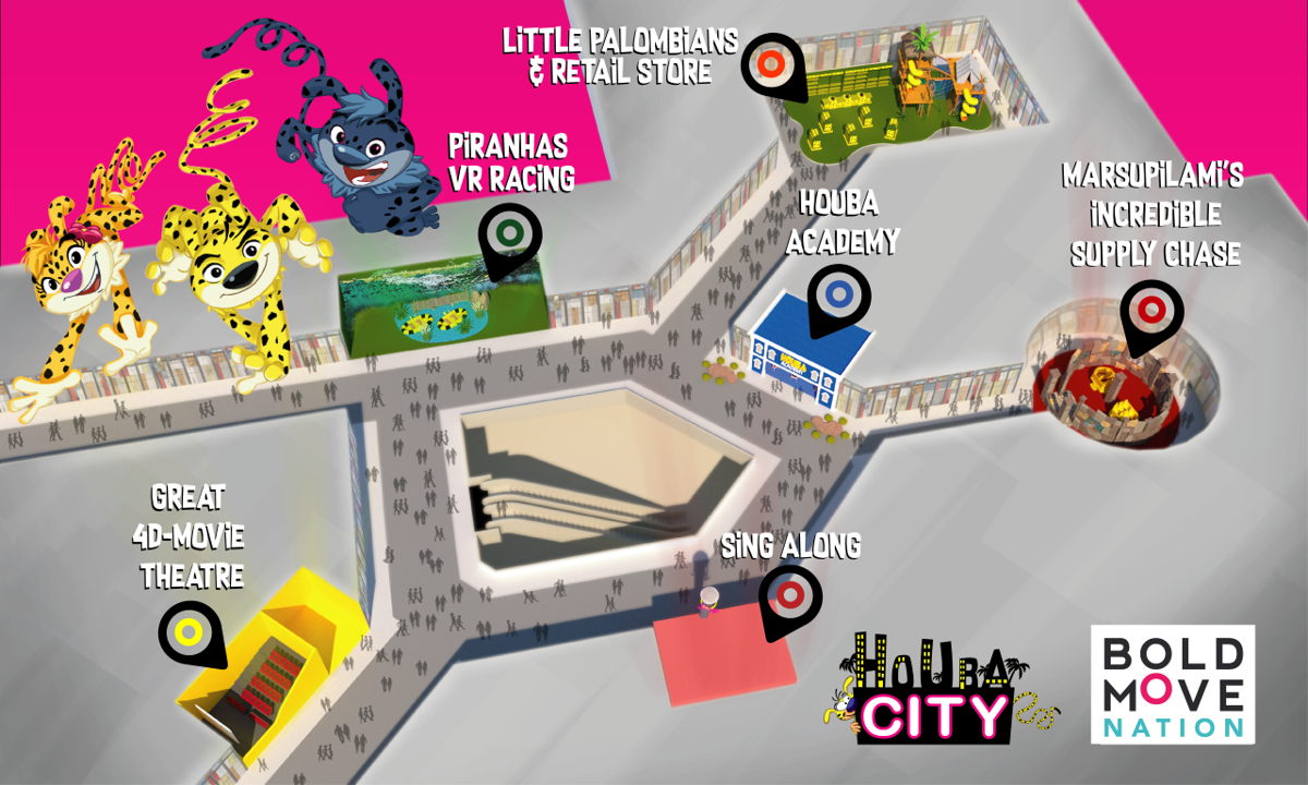 BoldMove Houba City Urban Experience Centre - Pop-up format