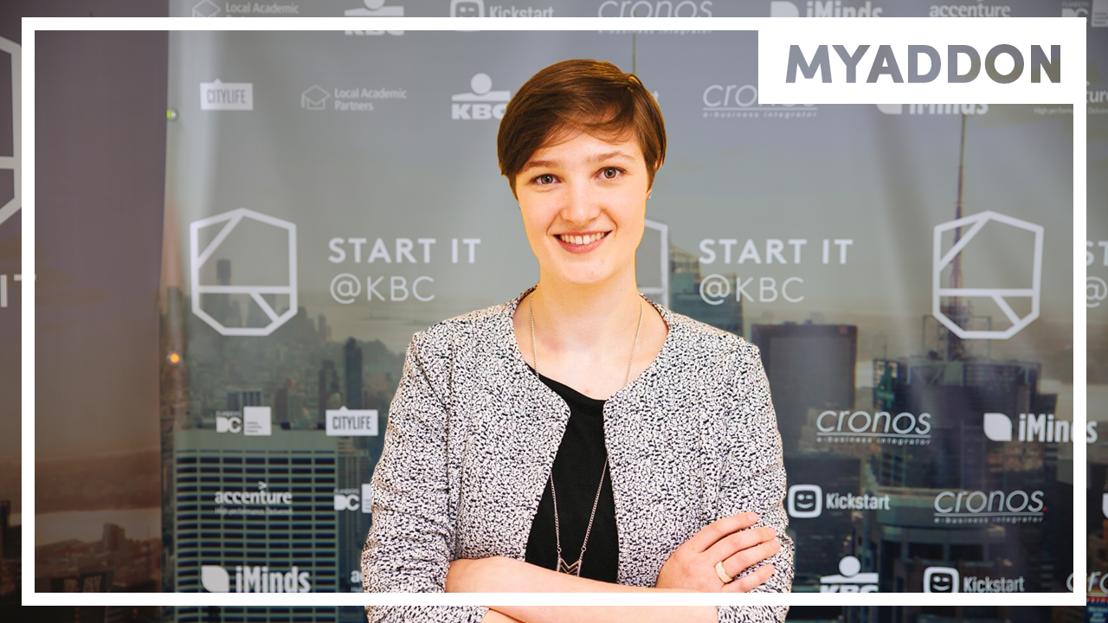 Marie Van den Broeck van My Add On is UNIZO student-ondernemer van het jaar 2017