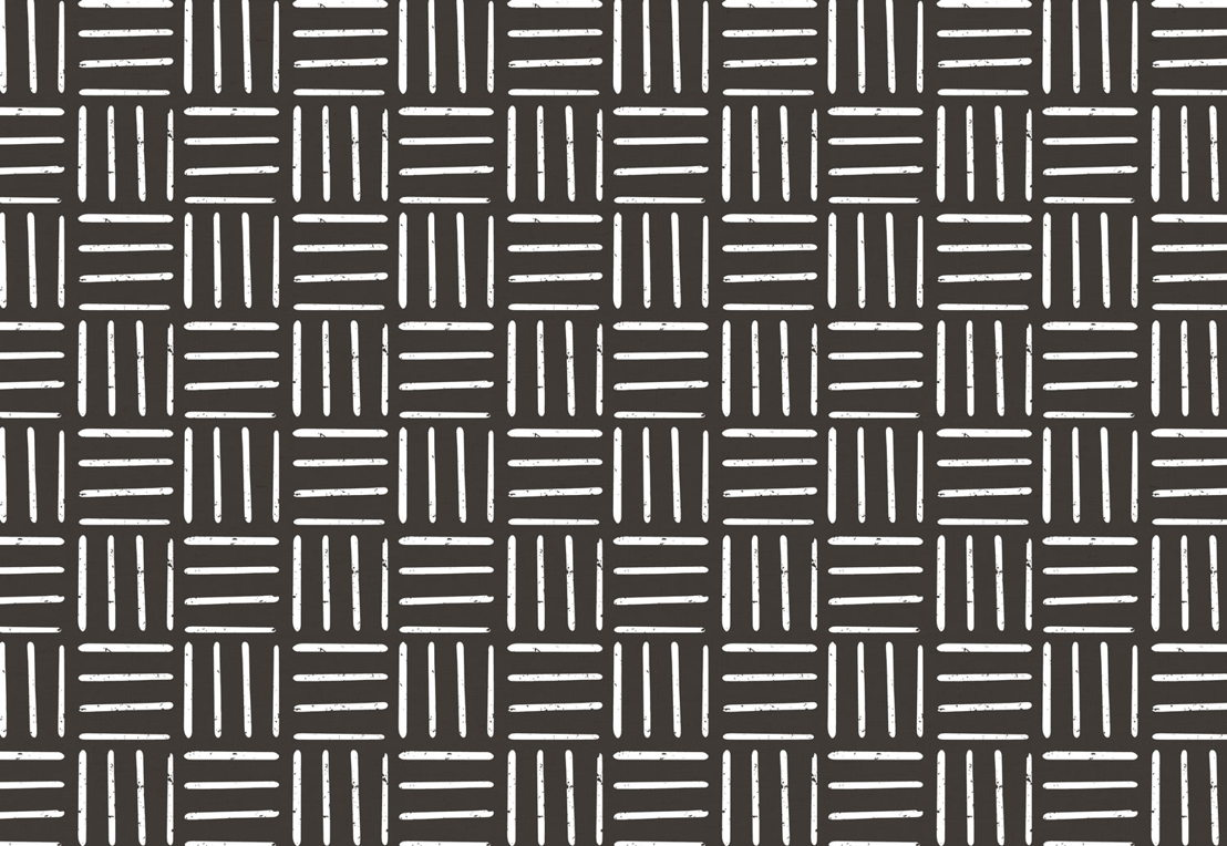 Black Tribal Line Design Wallpaper