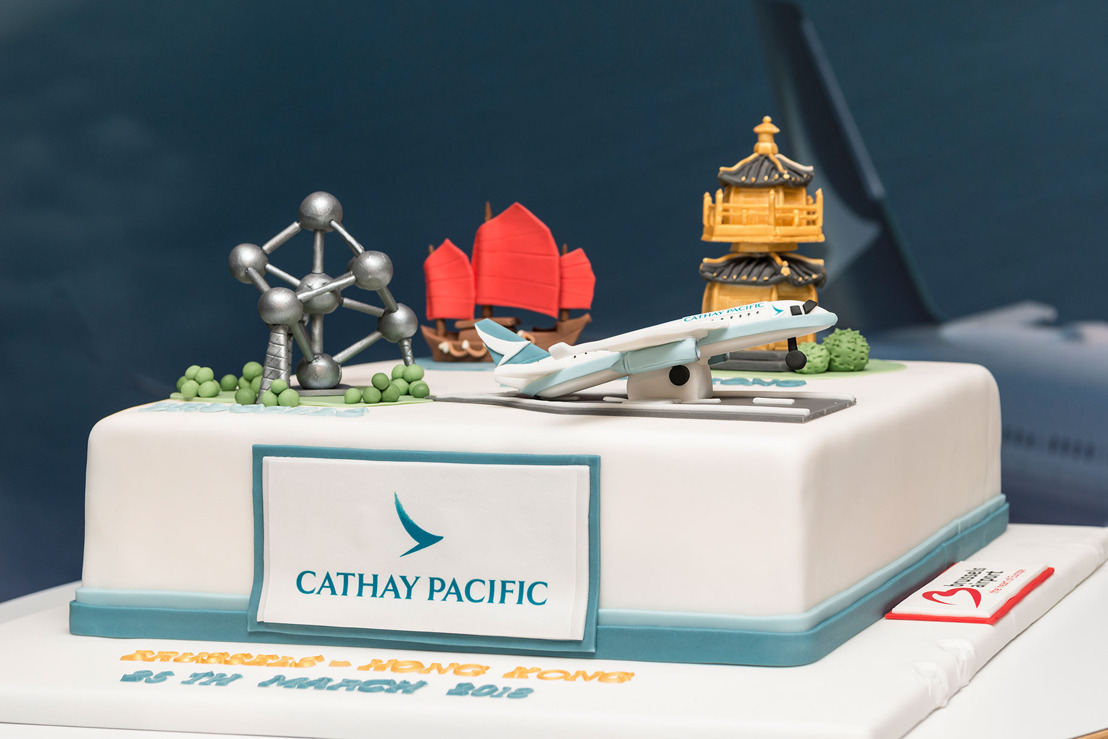 Cathay Pacific operates first non-stop flight from Brussels to Hong Kong