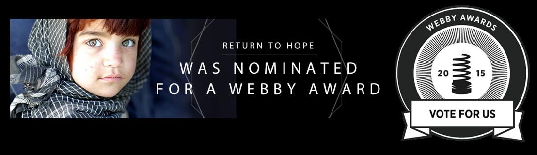NATO en Boondoggle maken kans op een Webby Award.