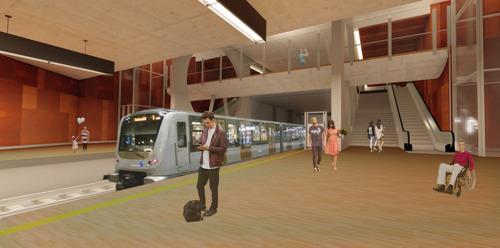 Premier coup de pelle pour la future ligne de métro 3