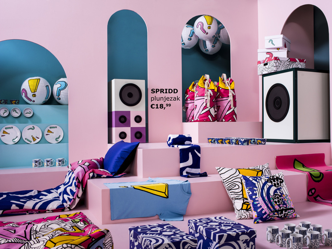 When design celebrates music: discover the new IKEA SPRIDD collection!