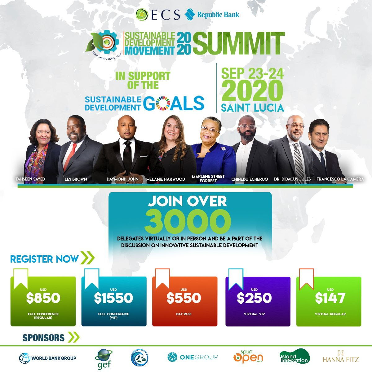 The OECS Republic Bank Business Model Competition is a feature of the Sustainable Development Movement scheduled for September 23-24, 2020. Click the image above to learn more about the #Movement and register.
