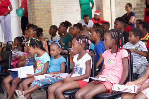 Des Barras Combined School Celebrate Christmas with OECS Commission Staff