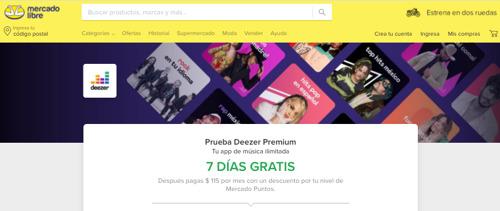 Deezer y Mercado Libre se unen para traer la mejor experiencia de música en streaming a México