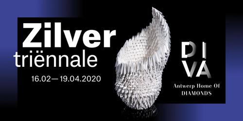 Vanaf 16 februari: 19de Zilvertriënnale in museum DIVA
