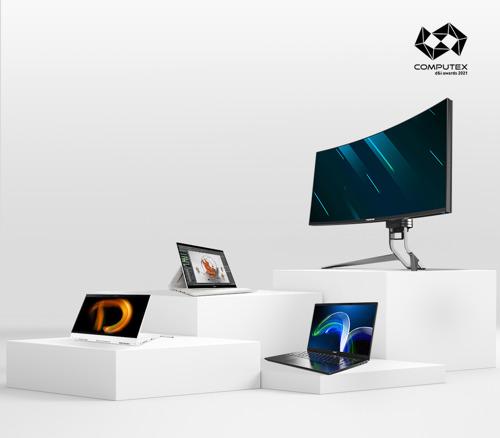 宏碁旗下多項產品 榮獲台北國際電腦展創新設計獎