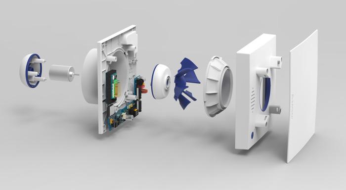 Gloednieuw intelligent ventilatiesysteem bij FACQ