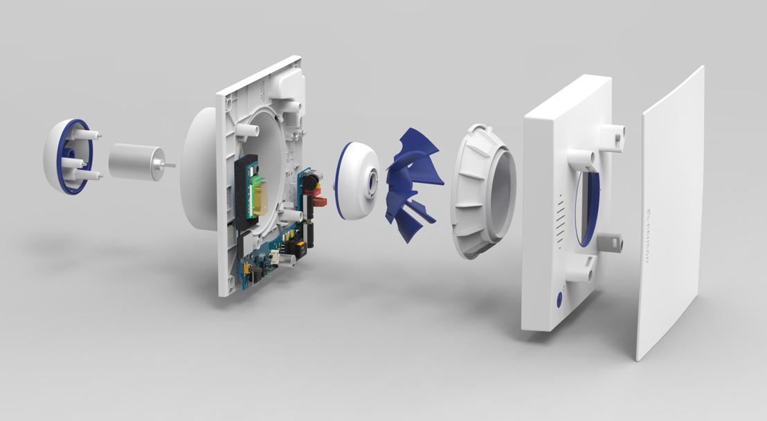 Tout nouveau système de ventilation intelligent chez FACQ