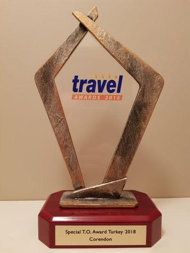 Preview: Corendon wint Special Touroperator Turkey Award