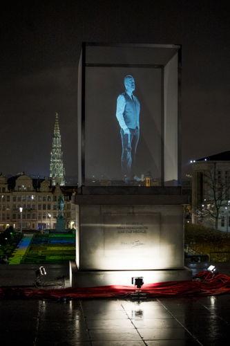 Preview: Devenez plus grand que nature avec l'holomaton de Thalys - Photos