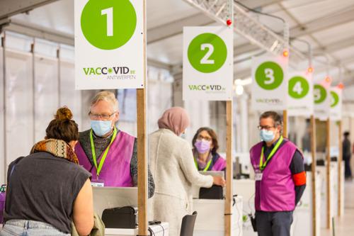 Vaccinatiedorp Spoor Oost sluit op 30 september