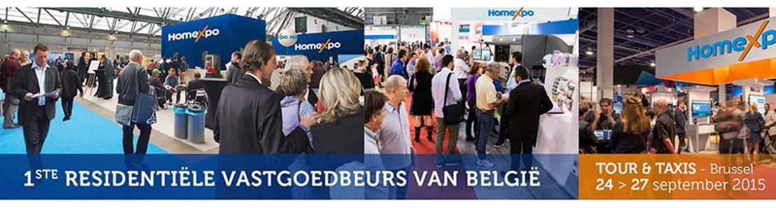 Homexpo opent de deuren: de eerste gratis beurs gespecialiseerd in residentieel vastgoed in België
