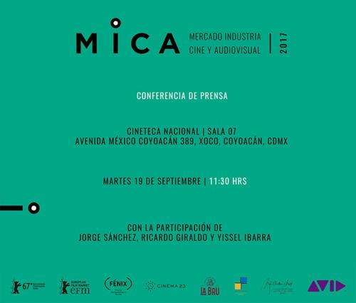 Corrección de hora | invitación conferencia de prensa MICA
