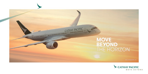 캐세이퍼시픽항공, 새로운 브랜드 캠페인 '무브 비욘드(Move Beyond)' 선보여