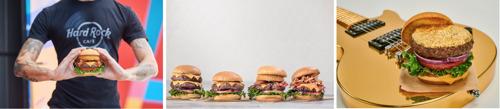 Hard Rock Cafe lanceert nieuw menu met steakburger met eetbaar laagje bladgoud (24 karaat)