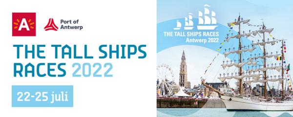 Preview: Port of Antwerp en stad Antwerpen geven startschot voor The Tall Ships Races 2022