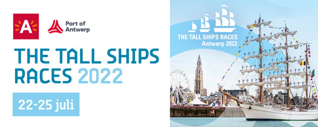 Port of Antwerp en stad Antwerpen geven startschot voor The Tall Ships Races 2022