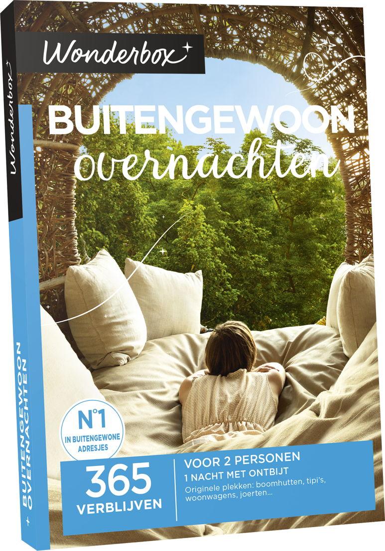 Wonderbox Buitengewoon overnachten 99,90€.