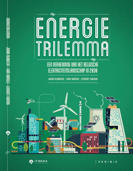 """Cover van het boek """"Energietrilemma"""""""