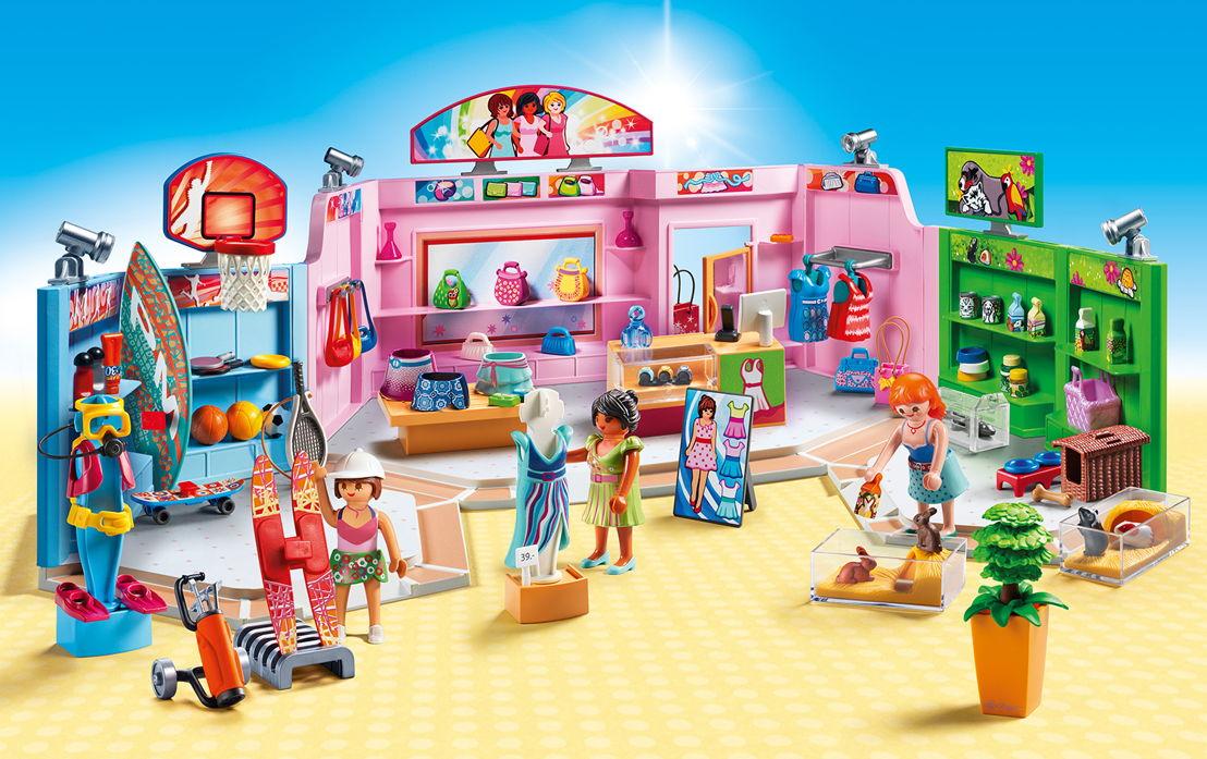 Galerie marchande <br/>Dès le 13 janvier en magasin. Les accros du shopping à partir de 5 ans peuvent préparer leur carte bancaire.