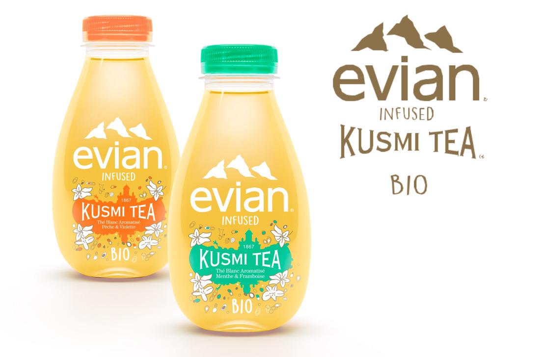 evian® en Kusmi Tea® creëren een unieke zintuiglijke beleving: