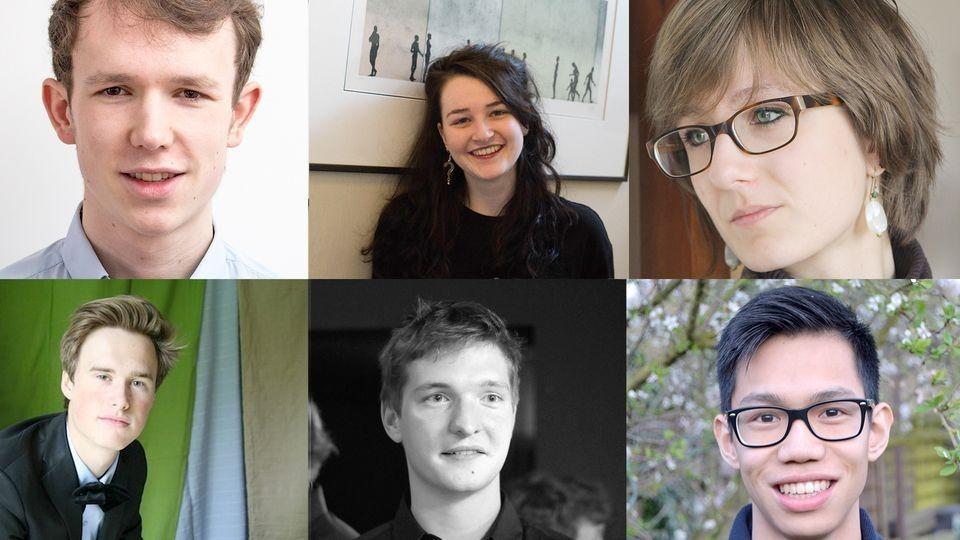 DeZes | lesSix : Wouter Valvekens, Marie François, Apolline Jesupret, Vadim Lacroix, Lenaart T'jollyn, Lenny Bui-Vandeput