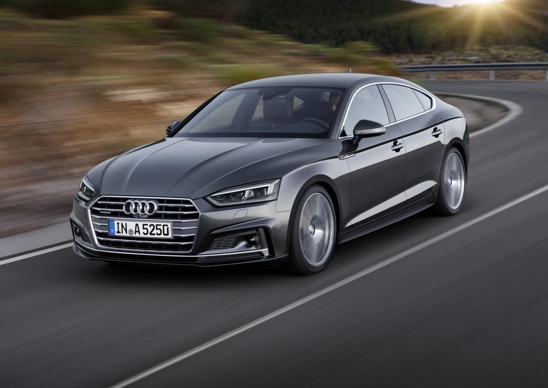 Audi A5 Sportback uitgeroepen tot 'Lease Car of the Year 2017'