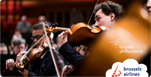 Brussels Airlines and Brussels Philharmonic: Start of a brand new partnership