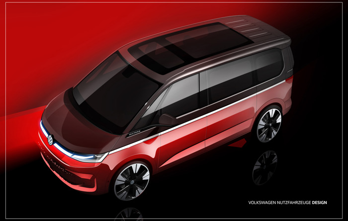 The new Multivan – MPV best-seller launching this year with plug-in hybrid drive system for the first time