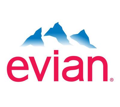 Evian espace presse Logo