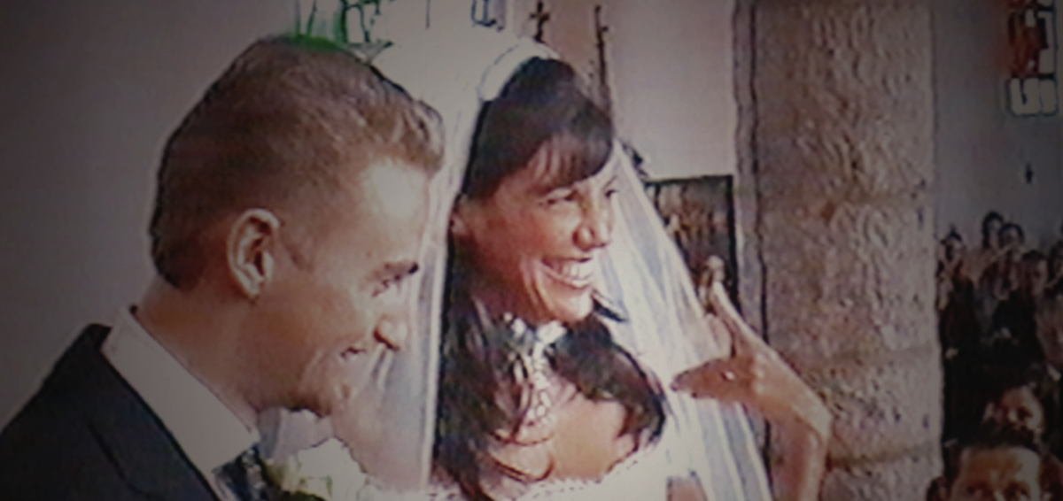 Huwelijk Frank en Sarah Pinnaci © familie Vandenbroucke